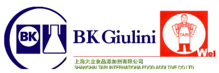 上海大立食品添加剂有限公司